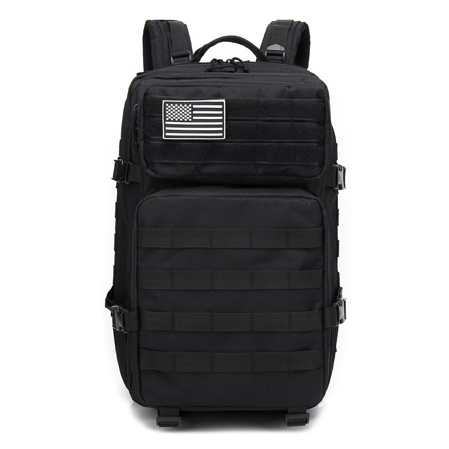 600D オックスフォード軍事戦術バックパック、戦術的なバッグ、モールポーチアサルトパック戦闘バックパック戦術的なバッグ