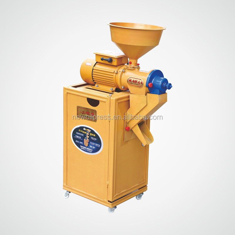 small motor direct driven rice milling machine