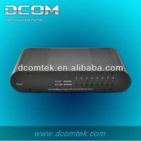 8 port mini desktop 10/100m ethernet layer 3 network switch