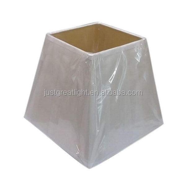 Bottom price latest Pyramid large lamp shades for table lamps