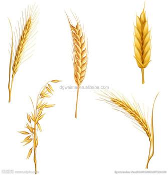 wholesale golden ear of wheat temporary metallic tattoo sticker