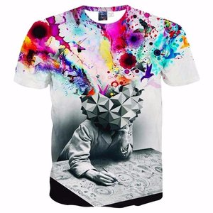 All-Over Printing full Color t shirts Dye sublimation t-shirt printing