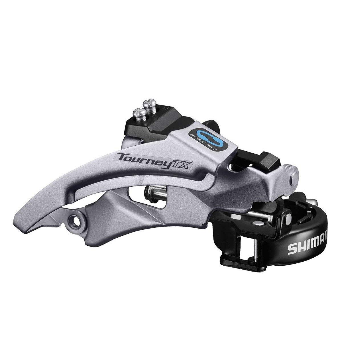 Shimano Tourney FD-A070 Road Bike 7 Speed Double Front Derailleur 28.6//34.9mm