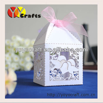 Laser Cut Dove Decorative Wedding Gift Boxes With Ribbon From Yoyo Crafts Buy Indian Wedding Gift Boxes Gift Box With Ribbon Design Wedding Door