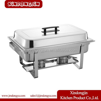 F433 8 Quart Economy Chafing Dish Stainless Steel Warming Tray Food Warmer Catering Buffet Chafer