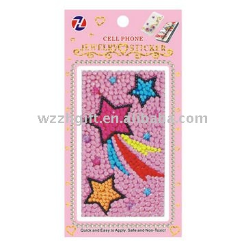 Various kinds mobile phone crystal stickers