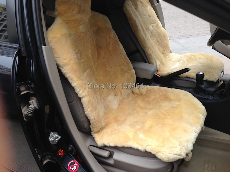 Patchwork Sheepskin Car Seat Covers