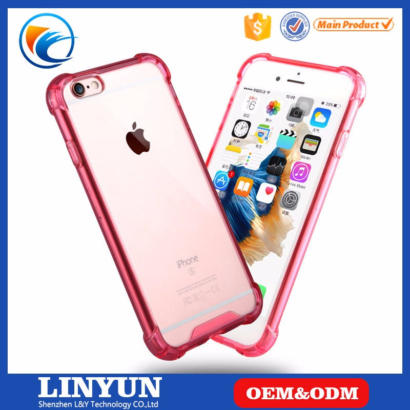 China Supplier Cheap transparent Clear Acrylic PC Case For iPhone 4/4s/5/5s/se,6/6s,6/6s Plus