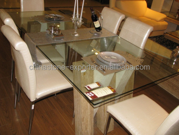 glass top dining table with marble base. marble base glass top table, dining tables, modern tables. coffee table with m