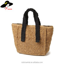 2013 girl's fashion spring raffia bag tote straw women handbag