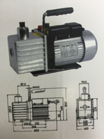 Air Conditioning Vacuum Pump With Single Stage - Buy Vacuum Pump ...