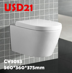SALE! Discounted economic cheap wall hung toilets stock clearance low price sanitary toilet wc