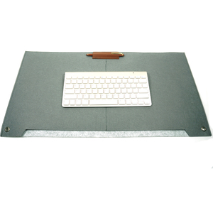 China Supplier 3mm Felt Desk Mat designer Waterproof Felt mouse mat
