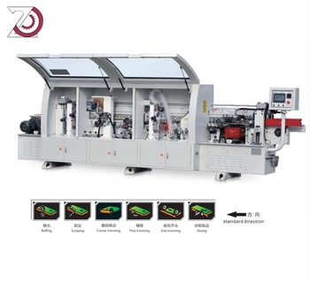 MF450EC full automatic edge banding machine with corner rounding