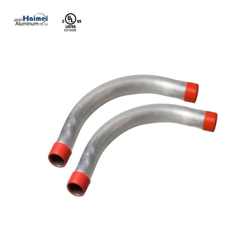 "1 pc Galvanized Rigid Conduit Elbow Bend 30 Degree 1-1//2/""   IMC Sweep"
