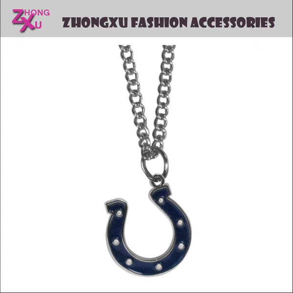 Custom teams New fashion NFL Indianapolis Colts pendant jewelry necklace