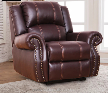 Luxury Leather Lazy Boy Electric Recliner With Rocking Chair Yrc8072 - Buy  Electric Leather Sofa Recliner,Luxury Leather Recliner,Lazy Boy Leather ...
