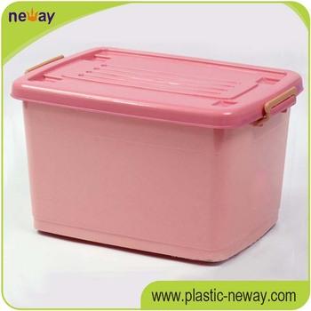 Colorful Custom Plastic Storage Box