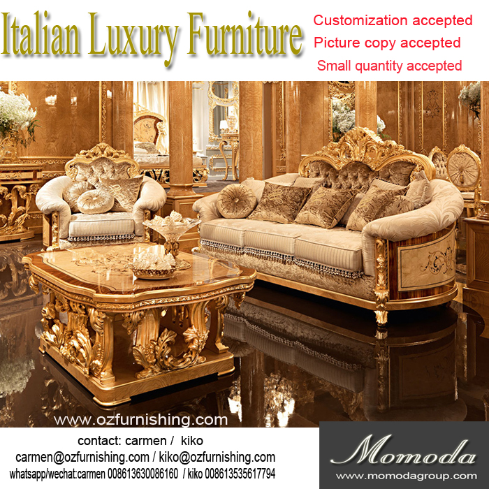 Royal Gold Louis Xvi Baroque Antique Carved Luxury Classic Living Room Sofa  Set Villa Hotel Lobby Sofa Furniture   Buy Royal Gold Carved Baroque Sofa, Louis ...