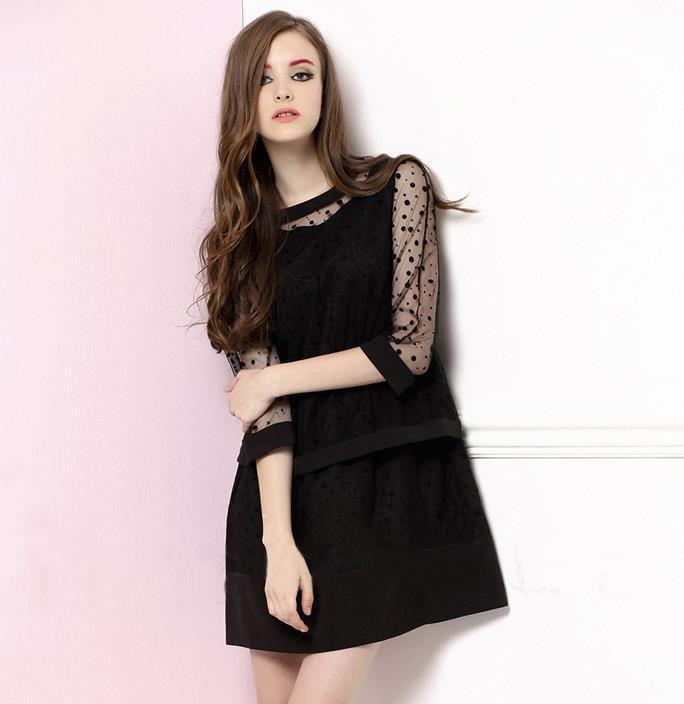a24a21a06e1 Cheap Polka Dot Dresses Plus Size, find Polka Dot Dresses Plus Size ...