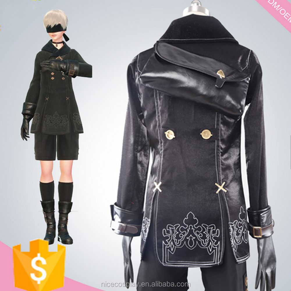 Popular Game Nier: Automata 9s Cosplay Costumes Custom Made Wholesale