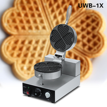 Commerciale cucina waffle, forma di cuore waffle industriale