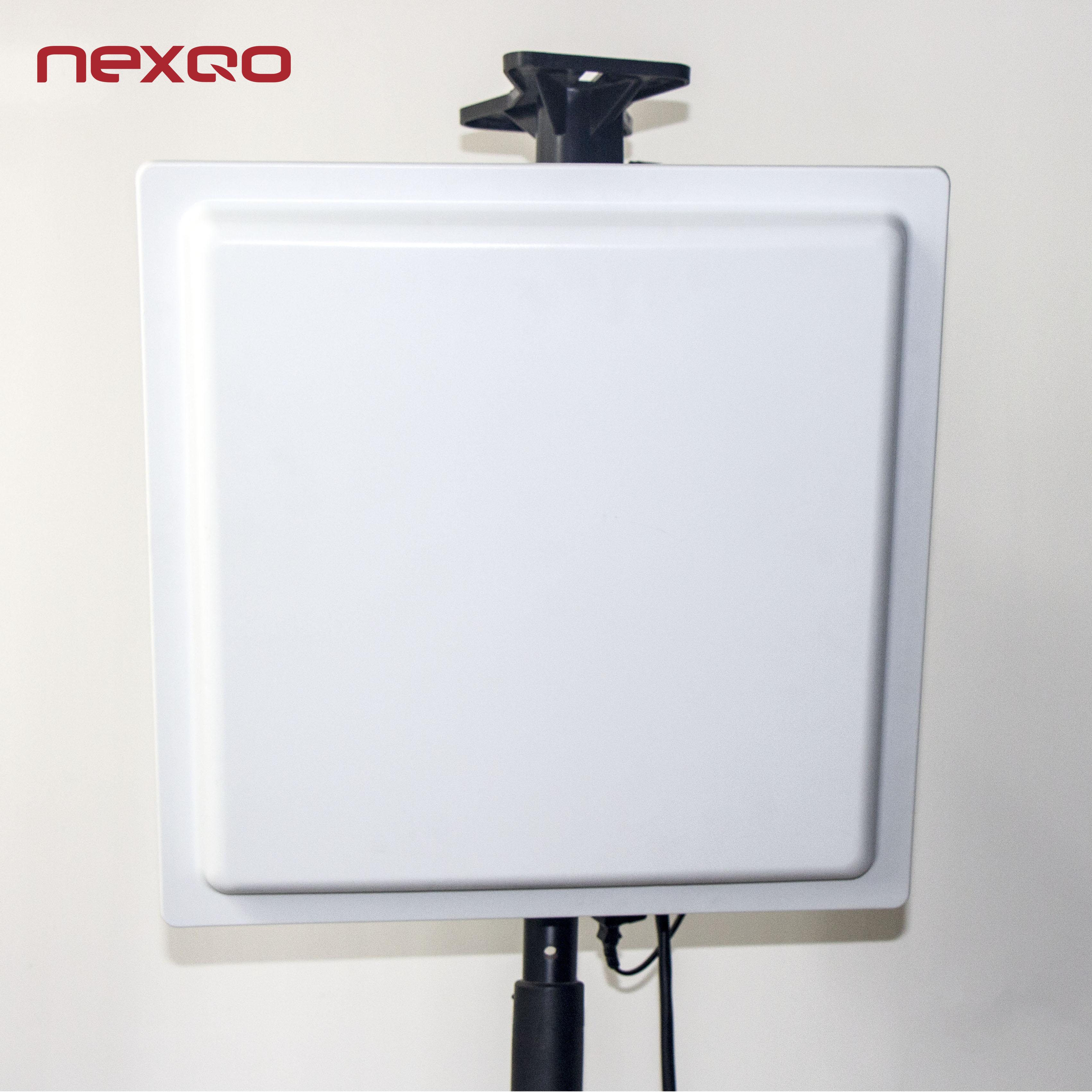 Inteligente rfid uhf antena 865-868 MHz/902-928 MHz antena para controle de acesso porta rfid