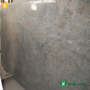 The marine green granite slab