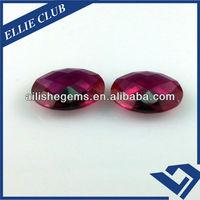 customer order round 2 carat ruby semi precious gems