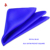 Mens Wedding Pure Silk Satin Royal Blue Pocket Squares