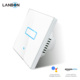 Lanbon Smart Home System WIFI light Switch Wall Switch 1 Gang 1 Way Work with Google Home &ECHO