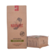 Strong Sealing Custom Printed Resealable Zipper Craft Paper Mylar Foil Lined 12oz Coffee Bag With Valve