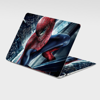 Laptop Iron Man Sticker Skin Cover &Personalized Customized Spiderman Removed Laptop Skin Sticker
