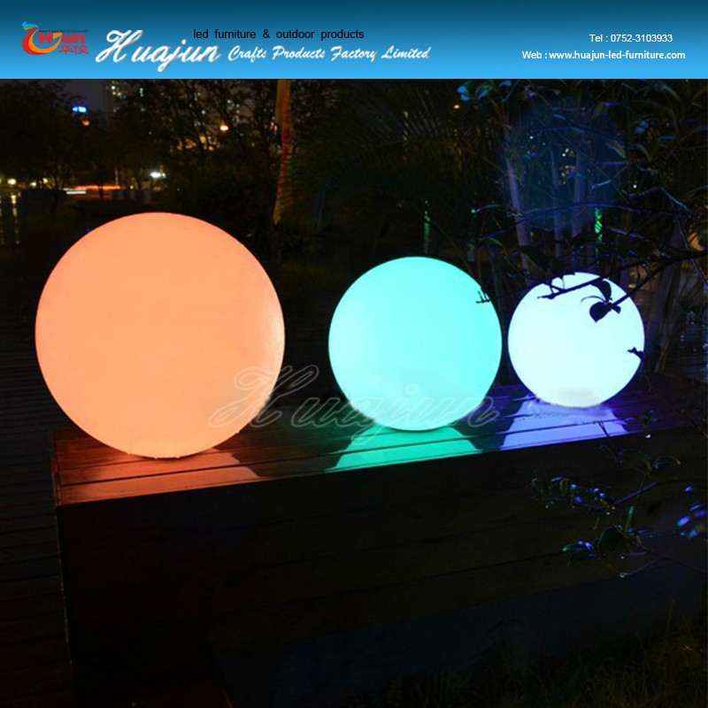 clairage ext rieur led ball jardin led ballon d 39 clairage tanche led boule de couleur. Black Bedroom Furniture Sets. Home Design Ideas