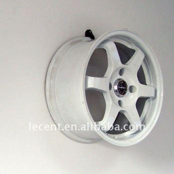 Black Wall Mounted Plastic Wheel Rim Display Hook Buy