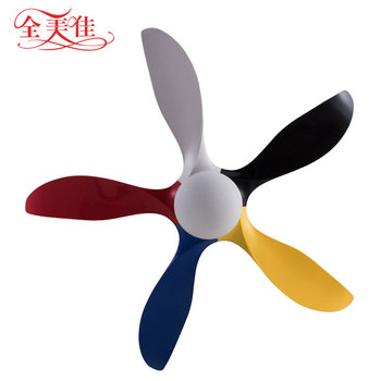 Living room summer decorative save energy 5 fan blades 18w light electric remote control remote control for ceiling fan