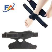 orthopedic open heel design elastic ankle bandage band support for foot injury
