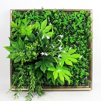 Designer home decor indoor framed wall garden art for party