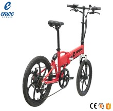 Enwe Wholesale 20 Inch Electric Folding Bike With 36V 10.4Ah lithium battery