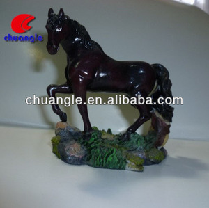 Polystone horse model, collectible horse statues