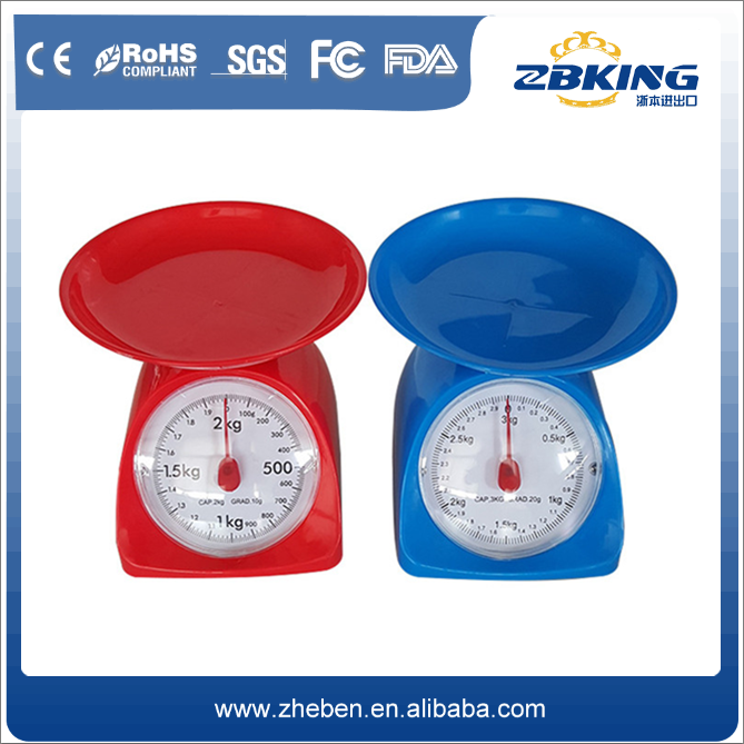 New design TS-708 kitchen and food scale mechanical weighing scale with low price