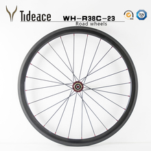 38mm Carbon Aluminum alloy road bike wheels/wheelset for sale