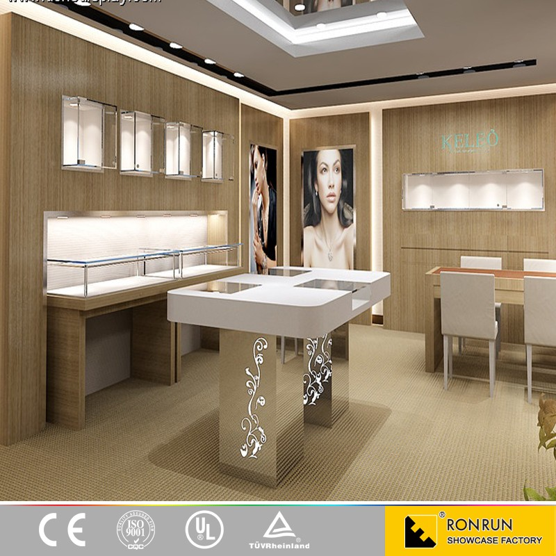 High Quality Retail Oem Jewelry Shop Display Counter