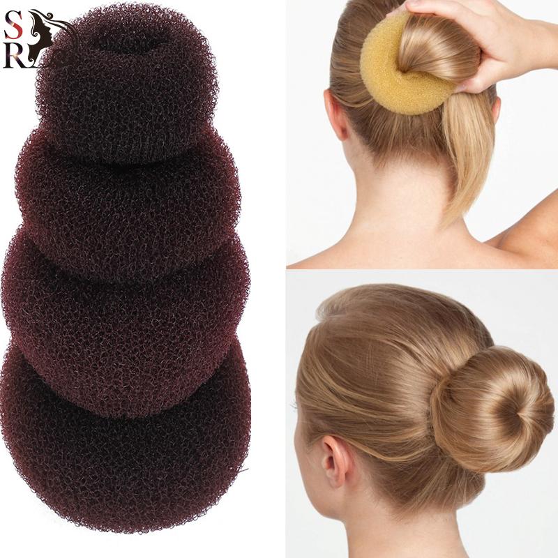 how to use a hair bun donut - photo #27