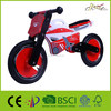 "Galaxy Motorcycle 12"" Kids Balance Wooden Bike as Running and Walking Bicycles"