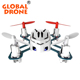 H111 Mini Quadcopter Q4 HUBSAN Nano Rc Drone 2.4G 4CH 6 Axis gyro Pocket Dron 5 colors Hubson beginner level for kids Helicopter