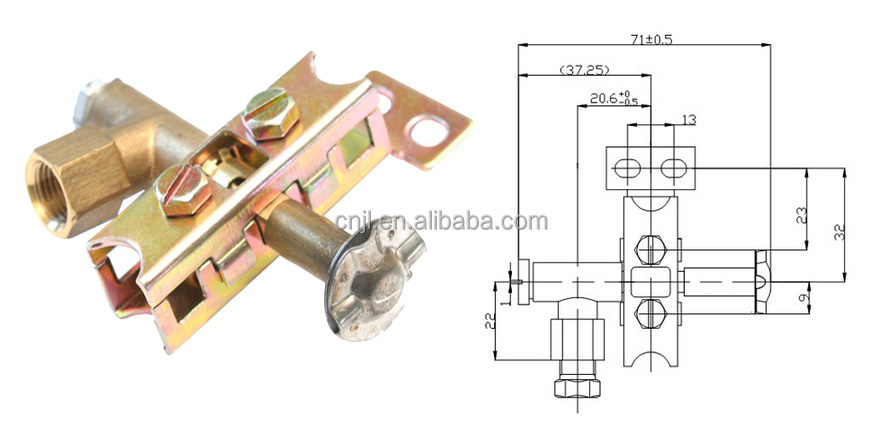 Gas Pilot Burner In Gas Fireplace/gas Pilot Assembly - Buy Gas ...