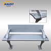 High quality Aluminum material cast aluminum garden bench, metal outdoor bench