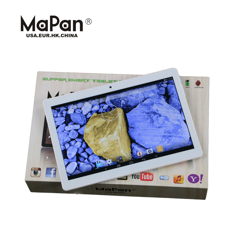 MaPan Touch screen Android 5.1 Cheap Tablet PC OEM 10 Inch Android 5.1 Allwinner A33 Quad Core 1G 8G White Box Tablet