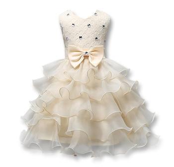 Flower Girl Dress For Wedding Baby Girl 3 8 Years Beautiful Birthday Outfits Children S Girls First Communion Dresses Buy Communion Dresses Flower